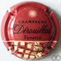 Champagne capsule A6.a Fanette, rouge et crème