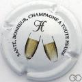 Champagne capsule 8 Fond blanc