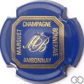 Champagne capsule 5 Bleu et or