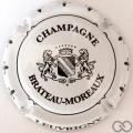 Champagne capsule 14 Blanc et noir