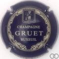 Champagne capsule  Bleu métallisé et blanc