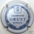 Champagne capsule 6 Argent et bleu