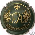 Champagne capsule 1 Vert foncé
