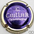 Champagne capsule 37.b Violet métallisé, contour or