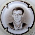 Champagne capsule 22.a Patrick Cuillier contour marron