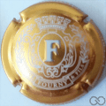 Champagne capsule 11.ca Estampée, or et blanc