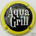 Champagne capsule A5 Aqua Grill, contour jaune