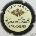 Champagne capsule 3 Contour vert foncé