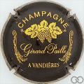 Champagne capsule 10 Noir et or