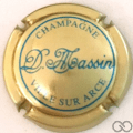 Champagne capsule 4.a Or et bleu turquoise