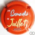 Champagne capsule A8 Fond orange