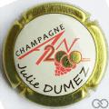 Champagne capsule 1112.e An 2020, jéroboam contour or
