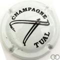 Champagne capsule A1.c Blanc et noir