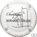 Champagne capsule 3.a Blanc, inscription sur contour