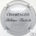 Champagne capsule 1.d Argent et noir