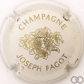 Champagne capsule 1 Blanc et or