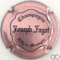Champagne capsule 19 Rosé et noir, inscription sur contour