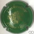 Champagne capsule 2 Vert et or