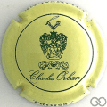 Champagne capsule 1 Jaune-crème et vert