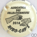 Champagne capsule 37.a RIBO CAPS, crème