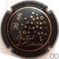 Champagne capsule 9 An 2000, bleu-noir (Bulles)