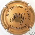 Champagne capsule 29.a Or et noir