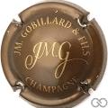 Champagne capsule 29 Marron et or