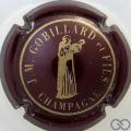 Champagne capsule 2 Marron et or