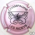 Champagne capsule 4 Rosé-violacé et noir