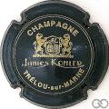 Champagne capsule 8 Bleu-métal et or