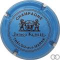 Champagne capsule 12 Bleu et noir