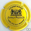 Champagne capsule 10 Jaune et noir