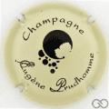 Champagne capsule 10.n Gris crème et noir