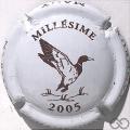 Champagne capsule 28.h Millésime, 2005 Canard en vol