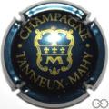 Champagne capsule 9.l Bleu nuit métallisé
