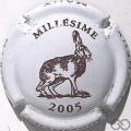 Champagne capsule 28.g Millésime, 2005 Lièvre