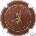 Champagne capsule 1 Marron (bordeaux)