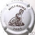 Champagne capsule 28.e Millésime, 2005 Lapin