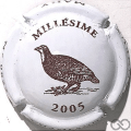Champagne capsule 28.f Millésime, 2005 Perdrix