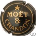 Champagne capsule 173 Quart, noir et or