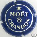 Champagne capsule 154.a Bleu et crème
