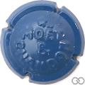 Champagne capsule 149 Quart, bleu