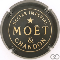 Champagne capsule 242 Nabuchodonosor, noir, nectar impérial