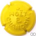 Champagne capsule 147 Quart, jaune