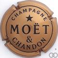 Champagne capsule 230.c Quart, or foncé, inscription Champagne