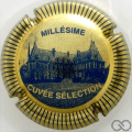 Champagne capsule 8 Inscripition or