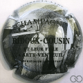Champagne capsule  Fond gris