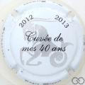 Champagne capsule 23 Cuvée des 40 ans