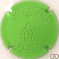 Champagne capsule 26.b Estampée vert pâle