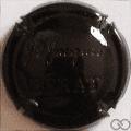 Champagne capsule 8.h Estampée noir